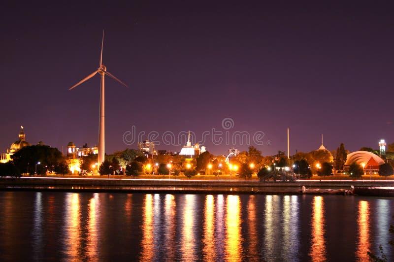 ноча toronto стоковая фотография