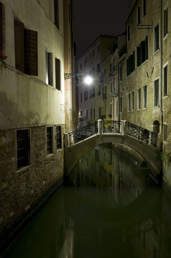 ночи venetian стоковые фотографии rf