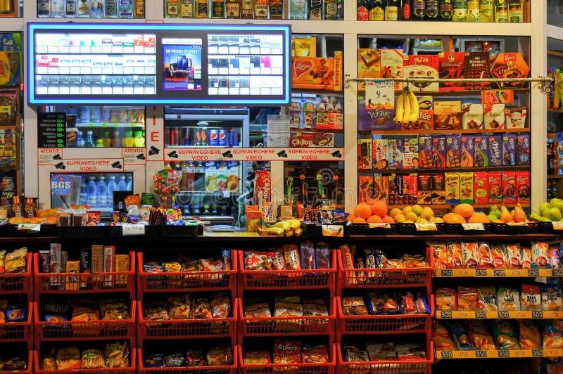 Ночной магазин стоковая фотография rf