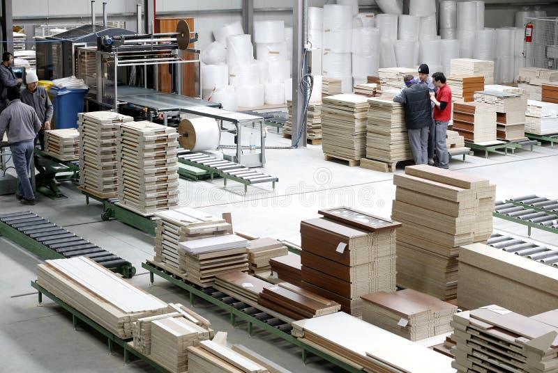 нутряная древесина пакгауза стоковые фотографии rf