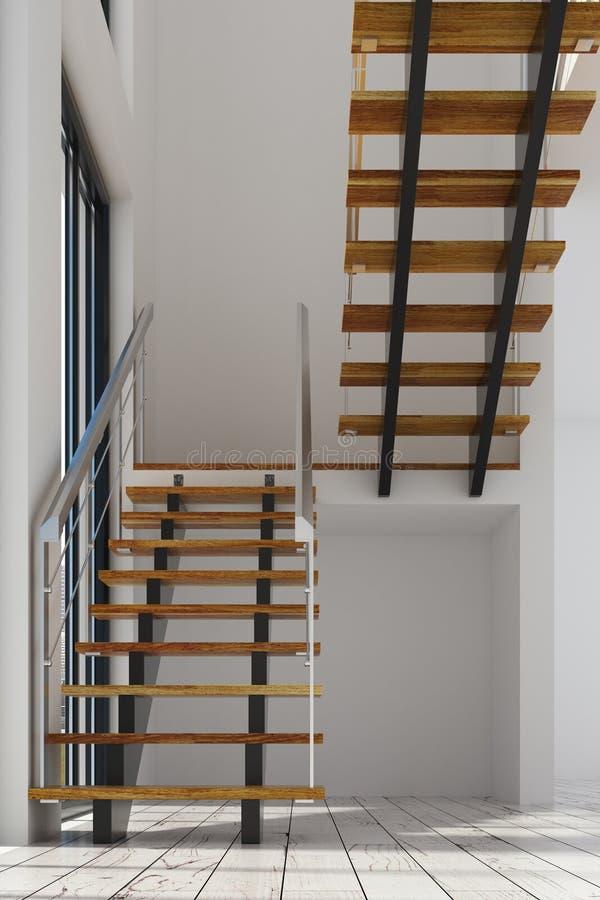 нутряная самомоднейшая лестница бесплатная иллюстрация