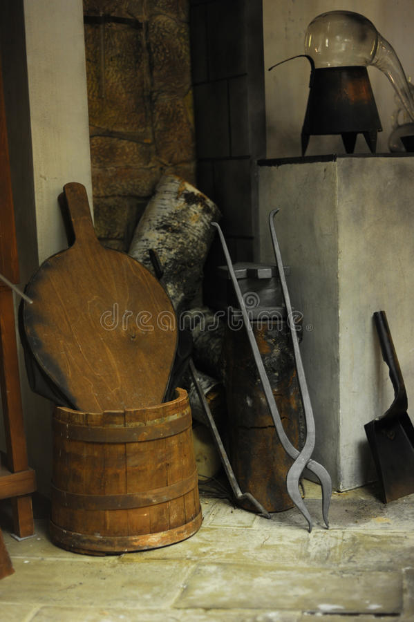 нутряное средневековое стоковое фото