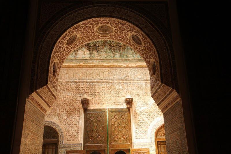 нутряное telouet kasbah стоковое фото