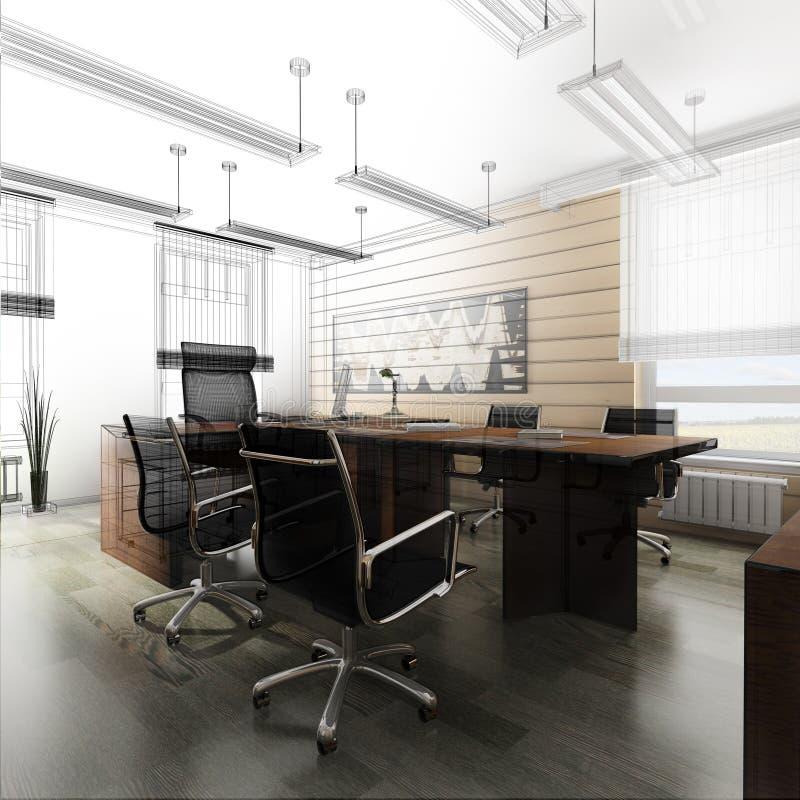 нутряной офис стоковые фото