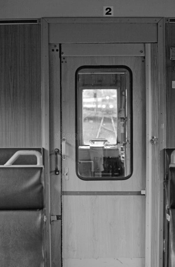 нутряной поезд стоковая фотография rf