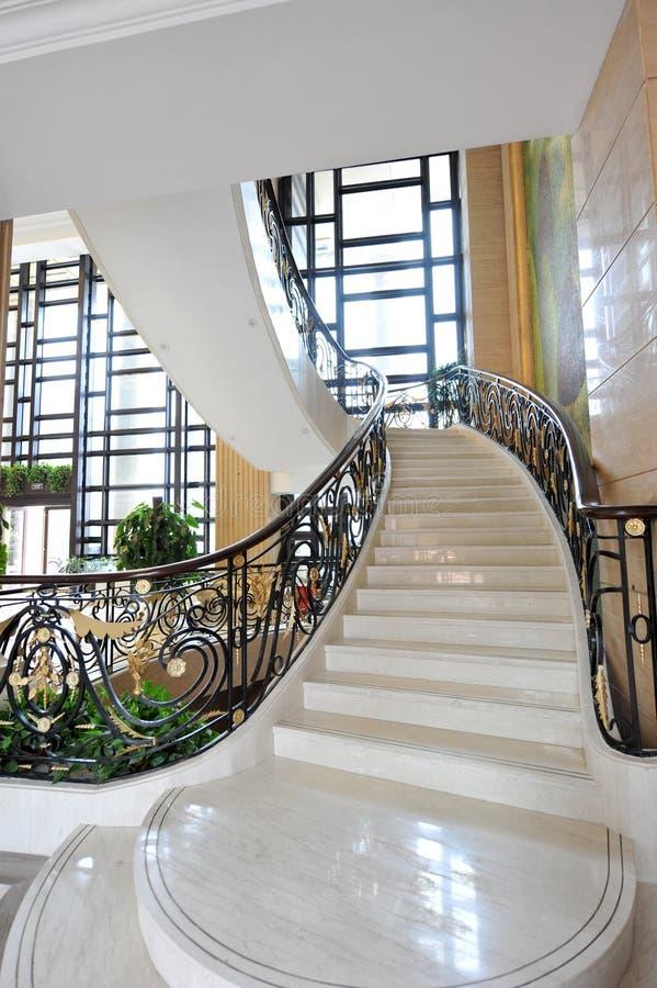 нутряные лестницы стоковая фотография rf