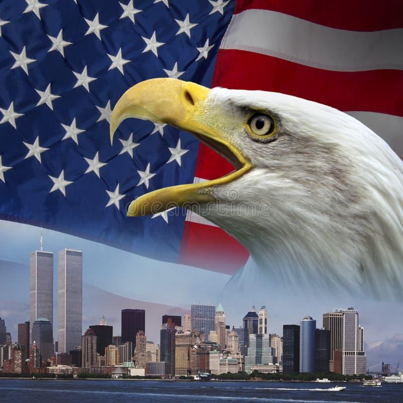 Нью-Йорк - вспомните 9-11 стоковая фотография