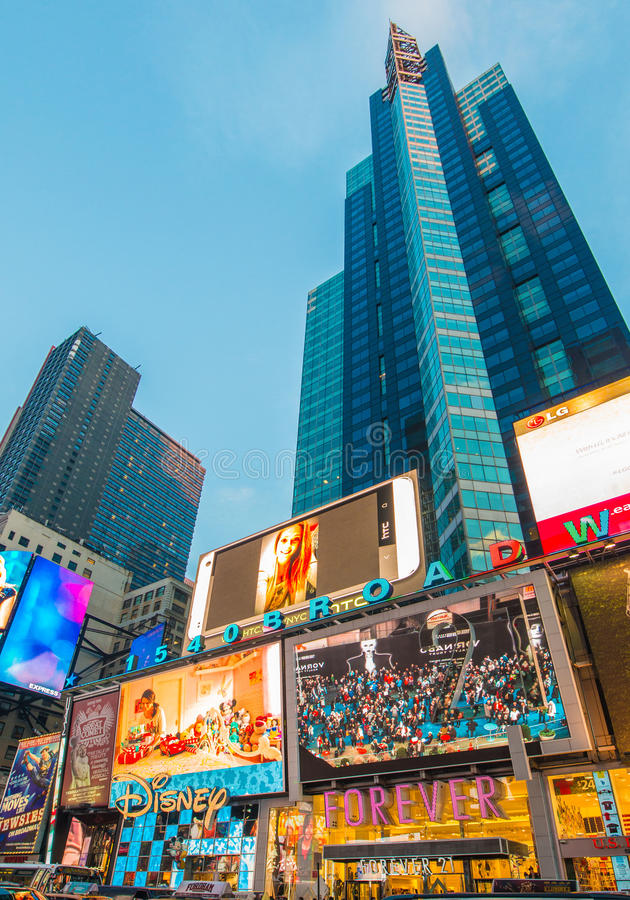 Нью-Йорк - 22-ое декабря 2013 стоковое фото rf