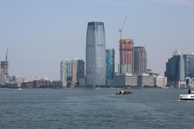 Нью-Йорк от Гудзона стоковое изображение rf