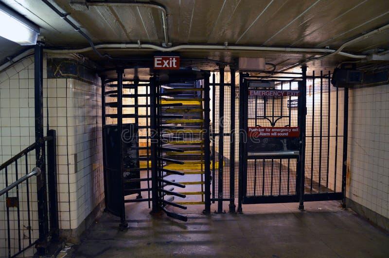 Нью-Йорк подземный стоковая фотография