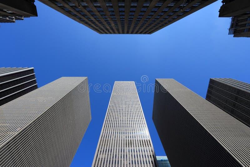 Нью-Йорк смотрит вверх стоковые фотографии rf