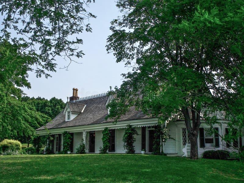 Нью-Йорк - Соединенные Штаты, дом Алисы Austen в острове Staten стоковые фотографии rf