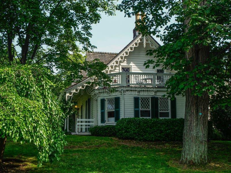 Нью-Йорк - Соединенные Штаты, дом Алисы Austen в острове Staten стоковое изображение rf
