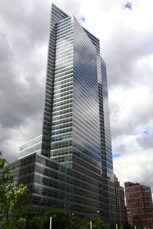 Нью-Йорк, США-июнь 16,2018: Современное Buliding высокоросло в новом yor стоковое изображение