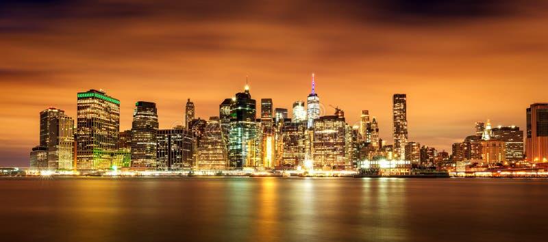 Нью-Йорк, Manhatten стоковые изображения