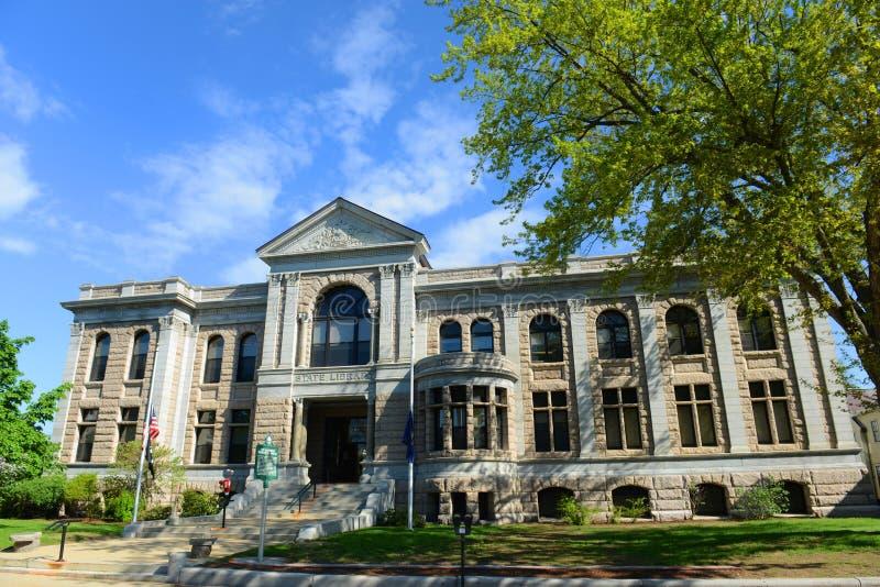 Нью-Хэмпширский здание государственного библиографического, согласие, США стоковое фото