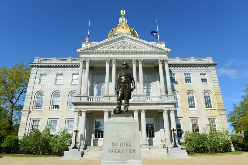 Нью-Хэмпширский дом положения, согласие, NH, США стоковое изображение