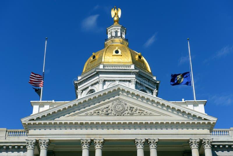 Нью-Хэмпширский дом положения, согласие, NH, США стоковая фотография