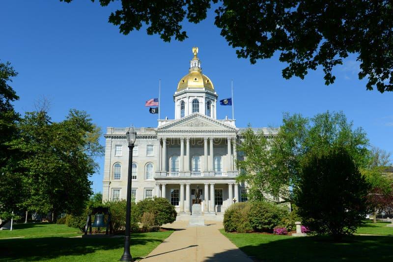 Нью-Хэмпширский дом положения, согласие, NH, США стоковое фото rf