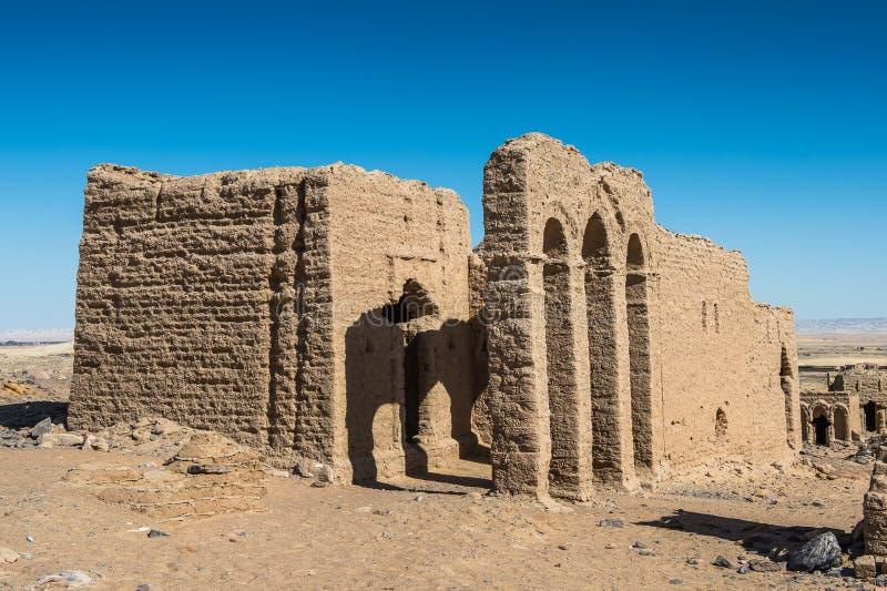 Оазис Kharga, Египет стоковые фотографии rf