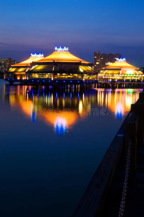 оазис singapore стоковая фотография rf