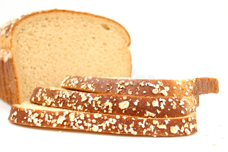 обвалите вкусную пшеницу в сухарях меда стоковые изображения