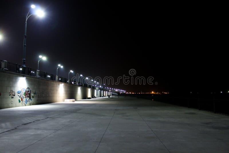 Обваловка ночи стоковое фото rf