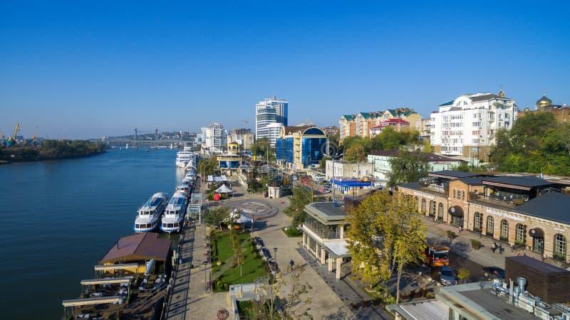 Обваловка Rostov On Don Россия стоковые изображения