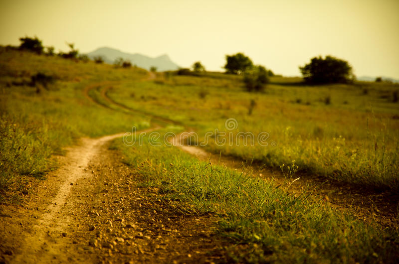 Обветренная дорога стоковая фотография