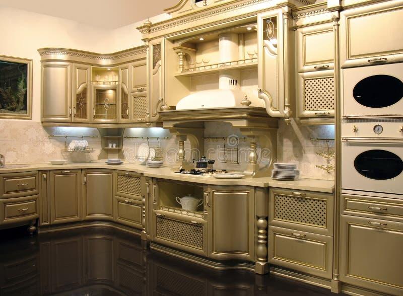 обедать комната кухни стоковое фото rf