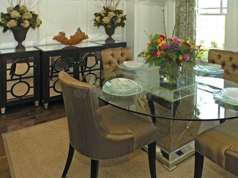 обедая роскошная комната 2 7 стоковые изображения rf