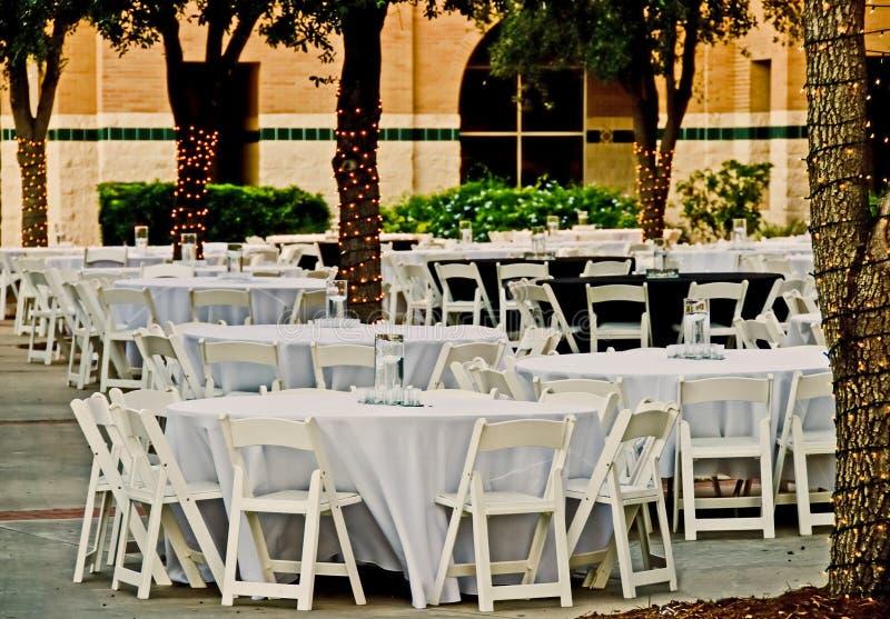 обед кампуса напольный стоковое фото rf