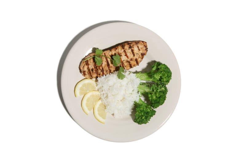 обед цыпленка стоковые фото