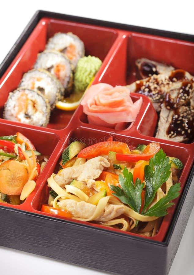 обед японца кухни bento стоковые изображения rf