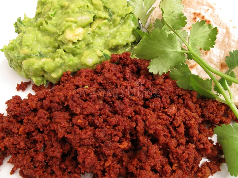 обед chorizo говядины стоковые изображения