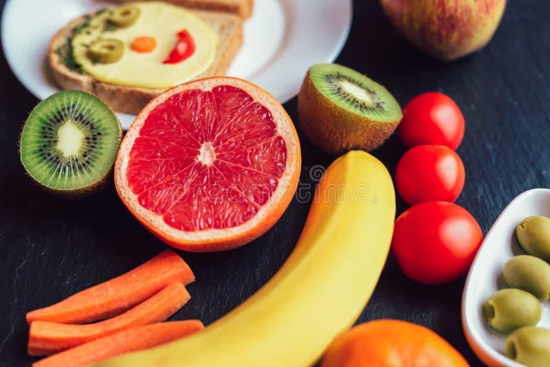 Обед Helthy для детей стоковые изображения rf