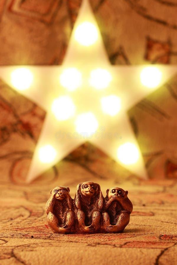 Download обезьяны 3 велемудрые стоковое фото. изображение насчитывающей горизонтально - 81804914