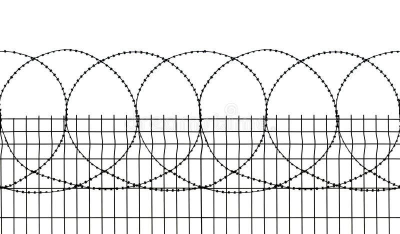 обеспеченность загородки безшовная стоковое фото rf