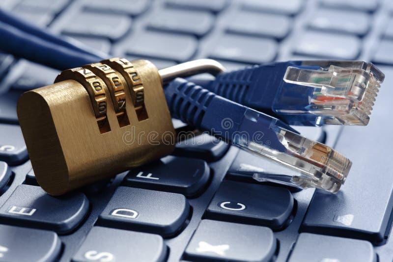 Обеспеченность интернета стоковое изображение rf