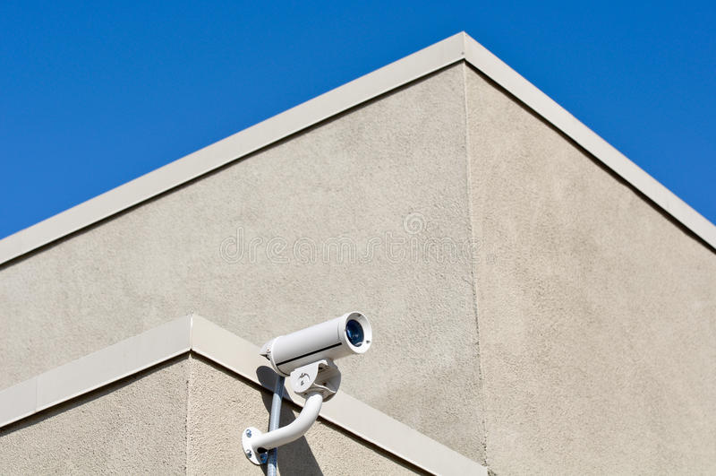 обеспеченность камеры здания стоковое фото