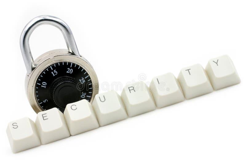 обеспеченность предохранения от компьютера стоковая фотография rf