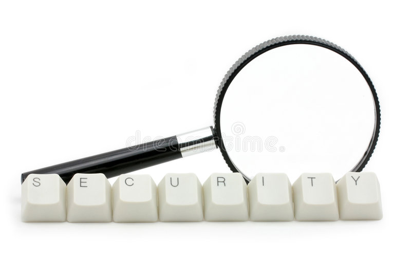 обеспеченность развертки компьютера стоковая фотография rf