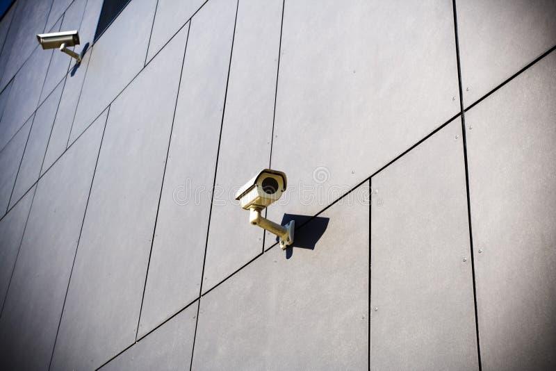 обеспеченность темноты камер здания стоковые изображения