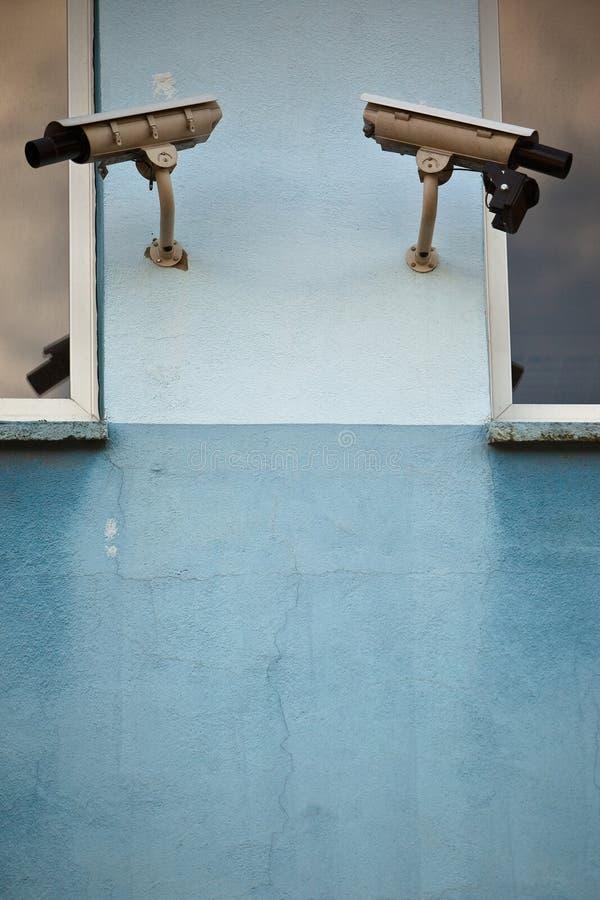 обеспеченность 2 камер стоковое фото