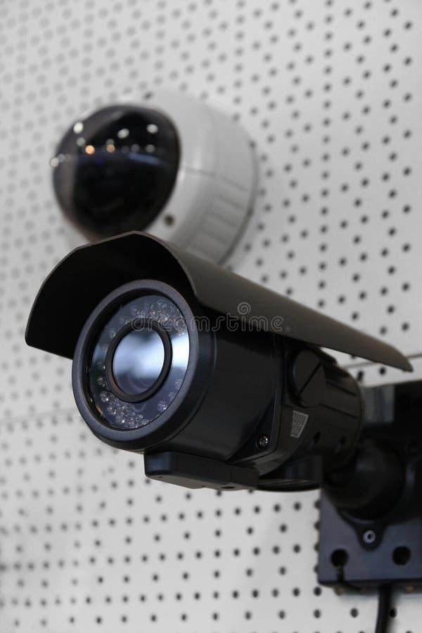 обеспеченность cctv камеры стоковые фотографии rf