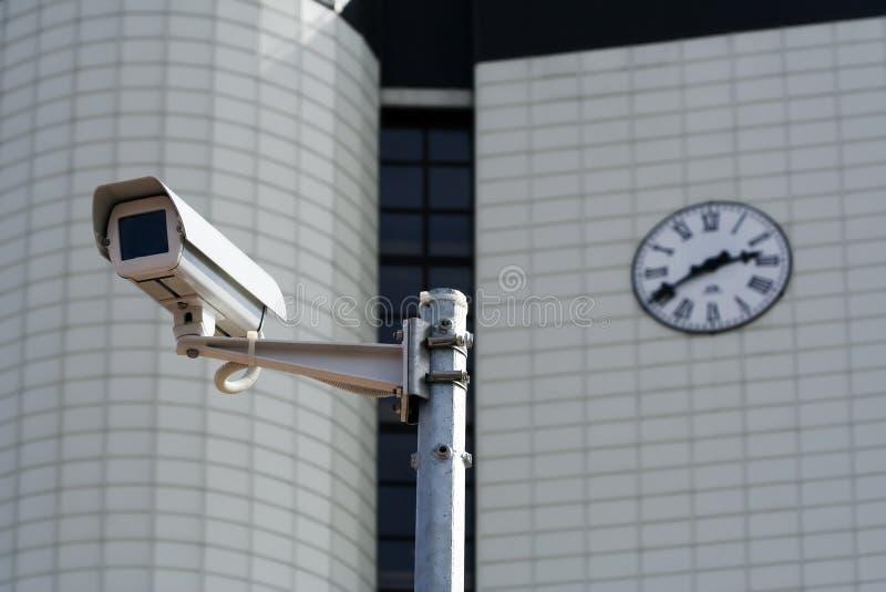 обеспеченность cctv камеры стоковые фото