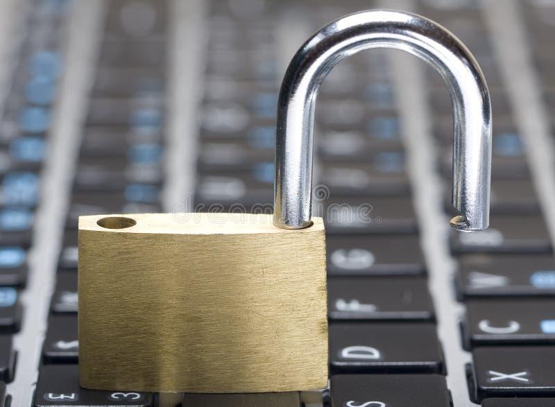 Обеспеченность Cyber стоковые фото