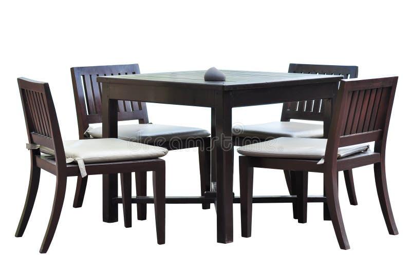 обедать мебель стоковые изображения rf