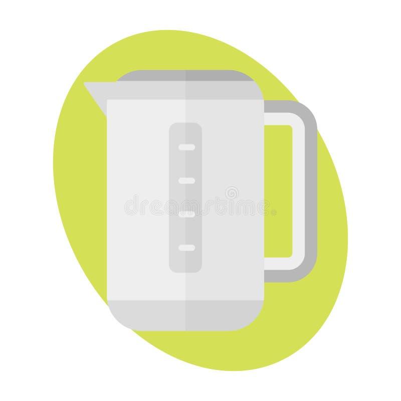Обедающий еды чайника знака напитка кухни значка чайника горячий подготавливая фрай ресторана kitchenware металла ручки отечестве бесплатная иллюстрация