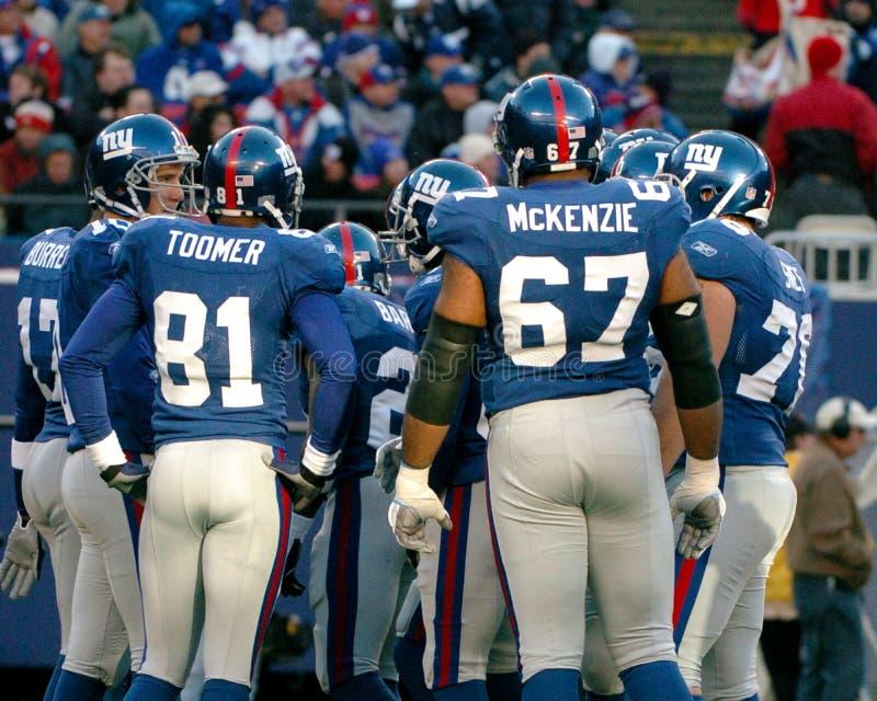 Обида 2006 New York Giants стоковая фотография